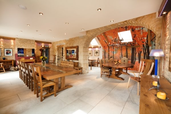 The Real Wood Furniture Company showrooms outside Chipping Norton