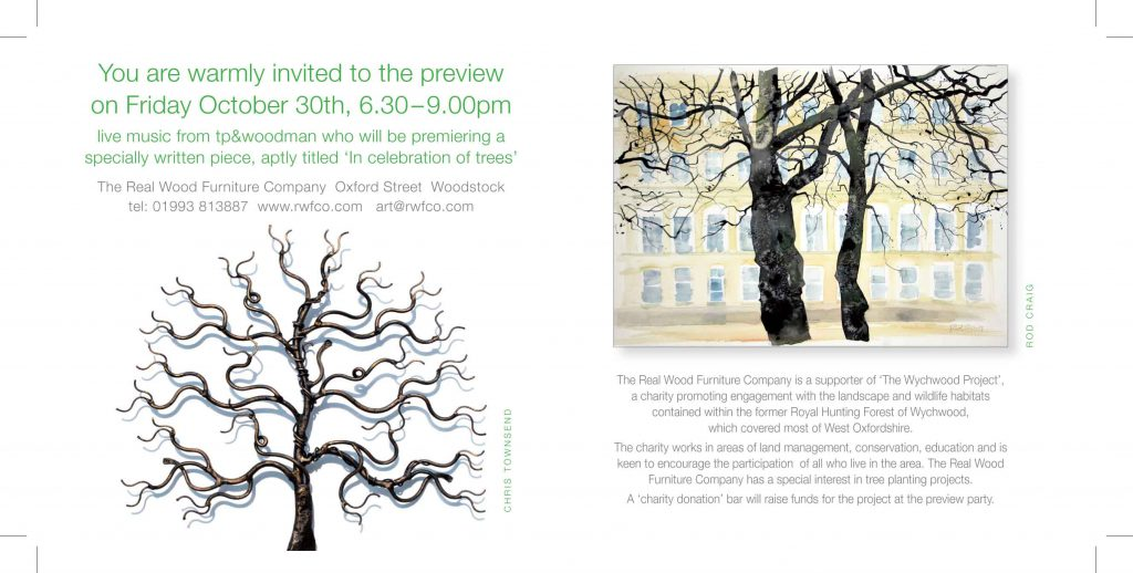 a celebration of trees preview invitation