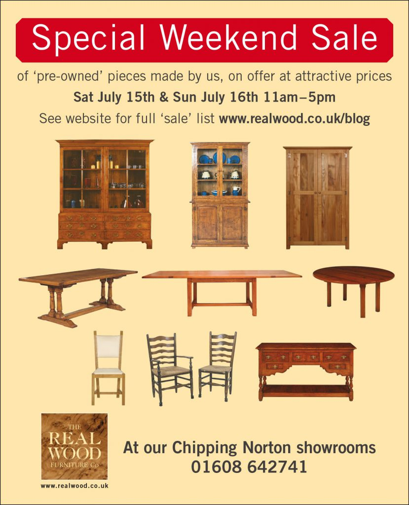 'The Dog House' Sale of pre-owned furniture made by The Real Wood Furniture Company