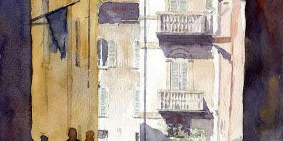 john somerscales - side street, verona